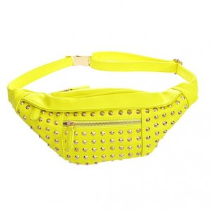 yellow_studded_fanny_pack